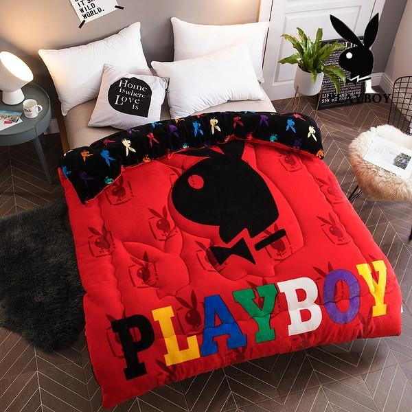 Playboy法蘭絨暖暖被 加厚款 (多款花色任選)【柔軟細緻保暖】PAY-05潮流前線(A-nice)