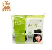 韓國 bebefood 寶寶無鹽海苔(1袋8包)