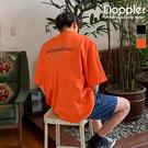 短T 韓系地球國旗草寫文字 寬鬆落肩 短袖T恤【TJT9114】現貨+預購 Doppler
