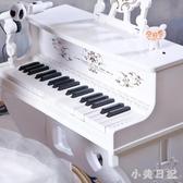 兒童鋼琴電子琴初學者帶麥克風寶寶女男孩玩具六一兒童節禮物61 aj11224『小美日記』