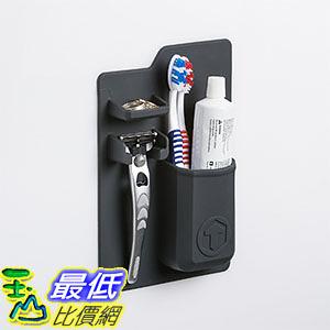 [美國直購] Tooletries 黑白兩色 移動式牙刷刮鬍刀收納架 Mighty Toothbrush Holder Color  _TC1