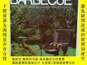 二手書博民逛書店《BARBECUE-THE罕見FINE ART OF CHARCOAL GAS AND HIBACHI COOKI
