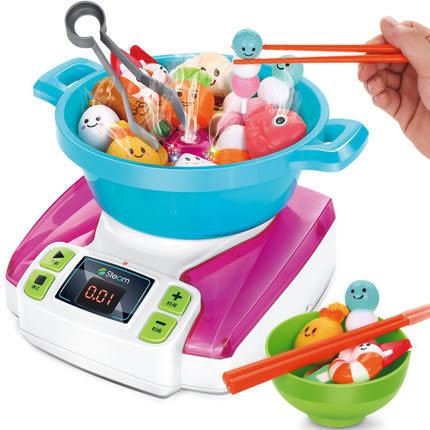 *粉粉寶貝玩具*超級蒸汽火鍋大樂鬥~蒸氣火鍋夾夾樂~可計時競賽~還可當加溼器~豪華充電版