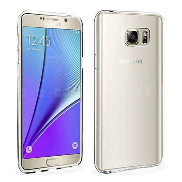三星 Samsung Galaxy Note 5 輕薄透明 TPU 高質感軟式手機殼/保護套 柔韌耐磨 防刮減震 全方位包覆