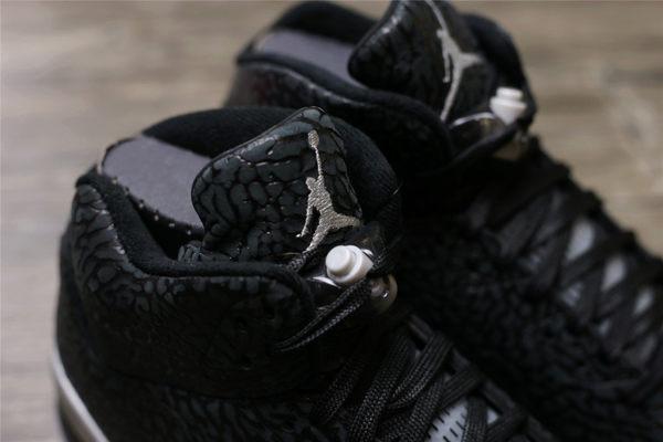 NIKEAir Jordan 3LAB5 Black Silver 黑爆裂紋  2016/5月 (布魯克林) 599581-003