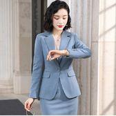 西裝領一粒釦秋冬OL長袖西裝外套 [9X306-PF]美之札
