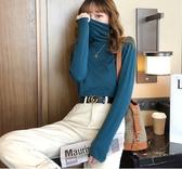 薄款毛衣 毛衣女2020新款春裝堆堆領打底衫寬鬆內搭薄款網紅高領【88折免運】
