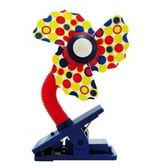 LUCKY BABY 可夾式安全電風扇/酷涼扇/安全風扇/風扇-藍