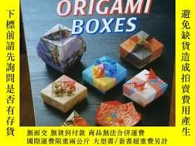 二手書博民逛書店Fabulous罕見Origami Boxes 神話般的摺紙盒書