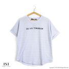 【INI】自在美感、率性質感紋路舒適上衣...