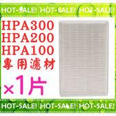 《現貨立即購》HPA-300APTW / HPA-200APTW / HPA-100APTW 專用HEPA濾心*1 (台灣製同HRF-R1品質)