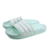 adidas ADILETTE SHOWER 拖鞋 戶外 粉綠色 男鞋 F34913 no710