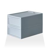 【RISU】北歐風堆疊抽屜櫃組 M -藍色