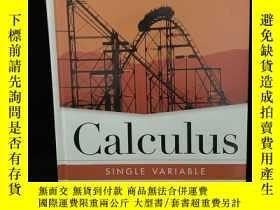 二手書博民逛書店Calculus罕見single variable(微積分,單變量)英文原版Y13255