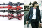 得來福,條紋式型男四色小領結可搭配襯衫T恤兒童也可用,直購價69元,現+預7-10