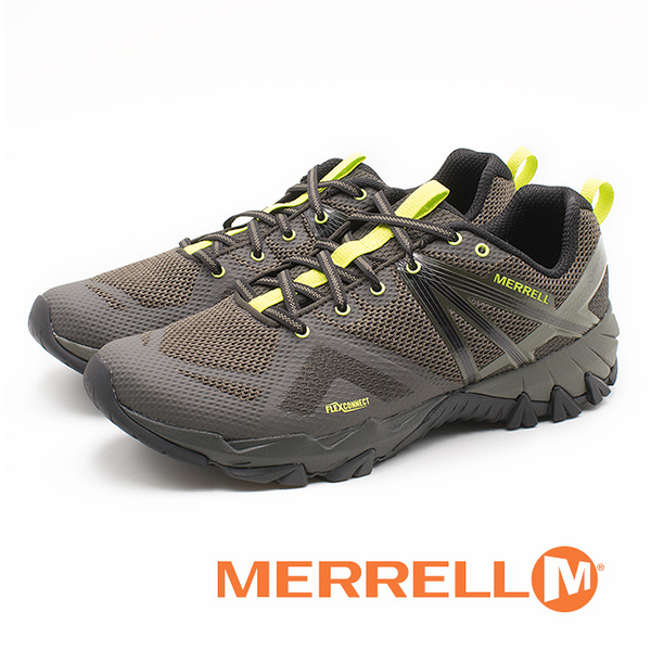 MERRELL MQM FLEX GORE-TEX 防水郊山健行鞋 男鞋 - 橄欖綠(另有藍)