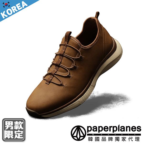 PAPERPLANES紙飛機 韓國空運 男鞋 嚴選質感皮革 步行 健走休閒鞋【B79JM015】