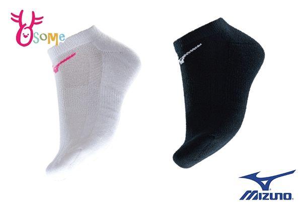Mizuno 美津濃 大童 女成人厚底 裸襪 短襪 運動襪 MIT 襪子 一雙入 SX342 SX343#白色#黑色◆OSOME奧森鞋業