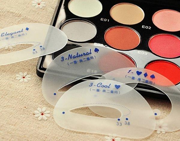 韓國新款眼影卡 懶人眼影輔助器 眼影描繪卡(6入裝﹚29元