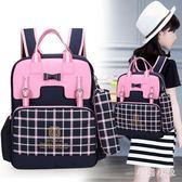 護頸書包雙肩包兒童書包時尚女孩背包 ys2707『毛菇小象』