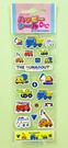 【震撼精品百貨】Shin Kan Sen 新幹線~三麗鷗新幹線貼紙-透明#00777