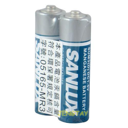 《鉦泰生活館》SANLUX 3號電池AA 2入/組 SUM3
