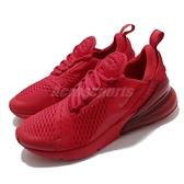 Nike 慢跑鞋 Air Max 270 紅 男鞋 大氣墊 大型後跟氣墊 舒適緩震 運動鞋 【ACS】 CV7544-600