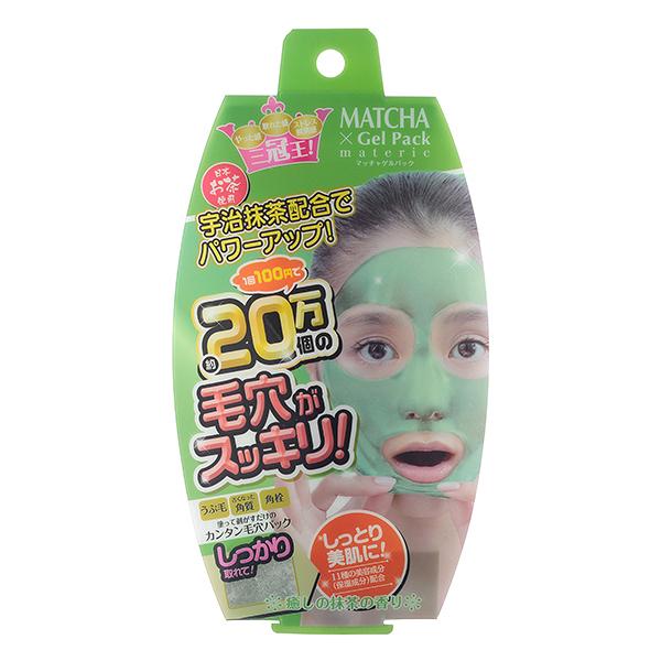 《日本製》毛穴潔淨抹茶凍膜-剝除式 90g  ◇iKIREI