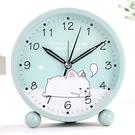 鬧鐘 學生用兒童電子夜光卡通可愛小簡約鬧鈴創意床頭靜音鐘表時鐘 - 風尚3C