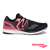 SAUCONY LIBERTY ISO 專業訓練女鞋-經典黑x粉紅