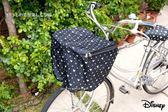 日本限定 迪士尼 米奇 防水尼龍 單車 腳踏車 車籃套
