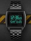 潮流韓版個性時尚運動防水電子手錶男多功能雙時間秒錶倒計時腕錶