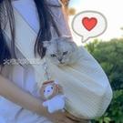 寵物外出包貓包外出寵物裝貓貓背包外出包書包貓咪用品斜挎單肩可愛小型YJT 快速出貨