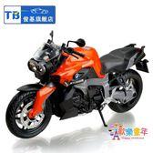 俊基1:12寶馬摩托車模型 合金油箱 仿真玩具車 裝飾擺件禮品