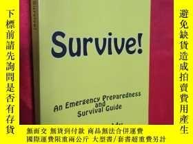 二手書博民逛書店Survive!:罕見An Emergency Prepared