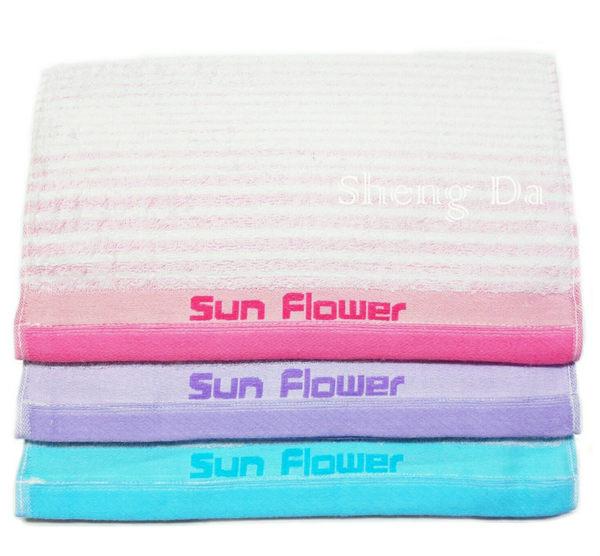 【台灣製造】 Sun Flower 三花 TF355- 32兩厚毛巾系列最新發售