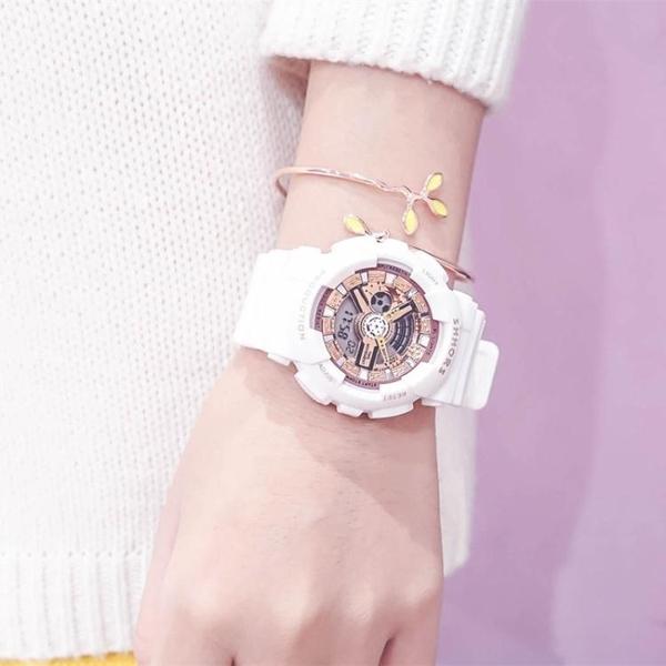 秒殺獨角獸手錶 可愛ins超火電子手錶女中學生韓版少女防水原宿風運動聖誕交換禮物