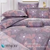 天絲床包兩用被四件式 加大6x6.2尺 桃樂絲 100%頂級天絲 萊賽爾 附正天絲吊牌 BEST寢飾