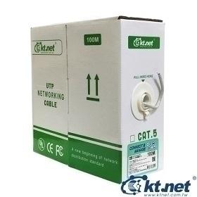 【鼎立資訊】KT 100米網路線 C5e綠箱