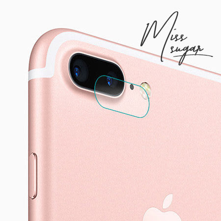 【Miss Sugar】iPhone 7/7 Plus 鋼化玻璃鏡頭保護貼 鏡頭圈 蘋果7 i7