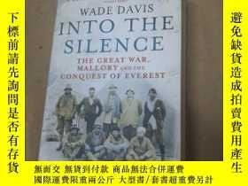 二手書博民逛書店Into罕見The Silence: The Great War