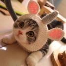 COS獨角獸貓咪頭套可愛搞笑寵物用品貓咪賣萌頭飾英短美『洛小仙女鞋』