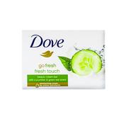 德國DOVE乳霜潔膚香皂-黃瓜綠茶(100g*4/組)*8