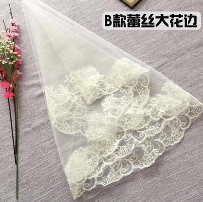 頭紗女新娘韓式簡約結婚婚紗頭紗頭飾超仙
