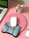 創意蝴蝶結滑鼠墊護腕3d記憶棉手托可愛卡通女生ins風辦公舒適腕墊柔軟膠墊電腦游戲韓版二次元