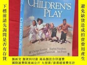 二手書博民逛書店Children s罕見Play ( 16開 ) 【詳見圖】Y5460 W. George Scarlett,