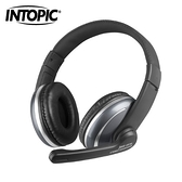 【INTOPIC 廣鼎】JAZZ-UB700  USB頭戴式耳機麥克風