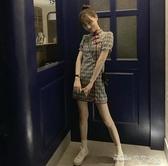 (快出) 法式復古智熏桔梗改良版旗袍egg初戀收腰很仙法國小眾連身裙子夏