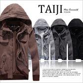 保暖外套【NP88027】日韓風格‧高磅數立體口袋磨毛連帽外套‧四色‧復古/m65/素面/騎士