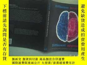 二手書博民逛書店DIFFERENT罕見BRAINES 01 不同的頭腦Y2030
